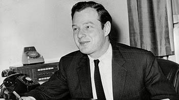 Mandatory Credit: Photo by Len Forde/ANL/REX/Shutterstock (1725604a) Brian Epstein Brian Epstein - 24 Feb 1964